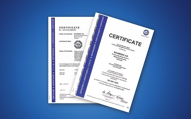 Packaging, sterilization & certification of medical devices