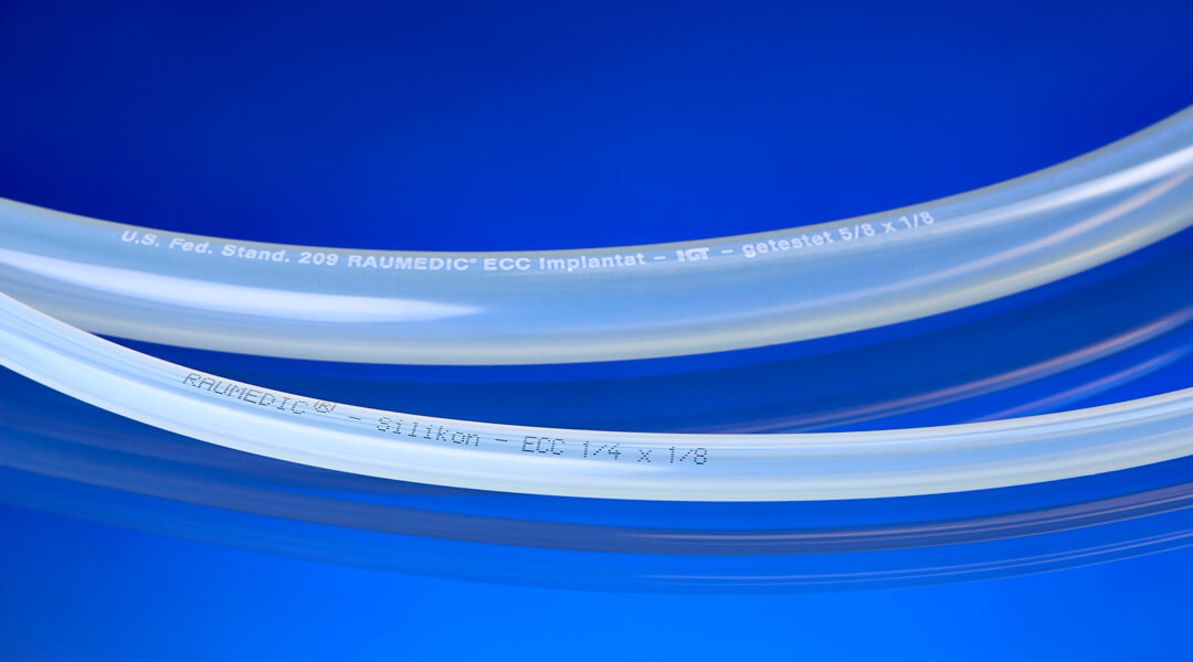 Silicone pump tubing